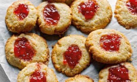 Jam thumbprint biscuits