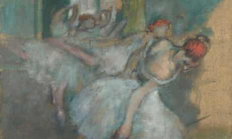 Edgar Degas's Ballet Dancers