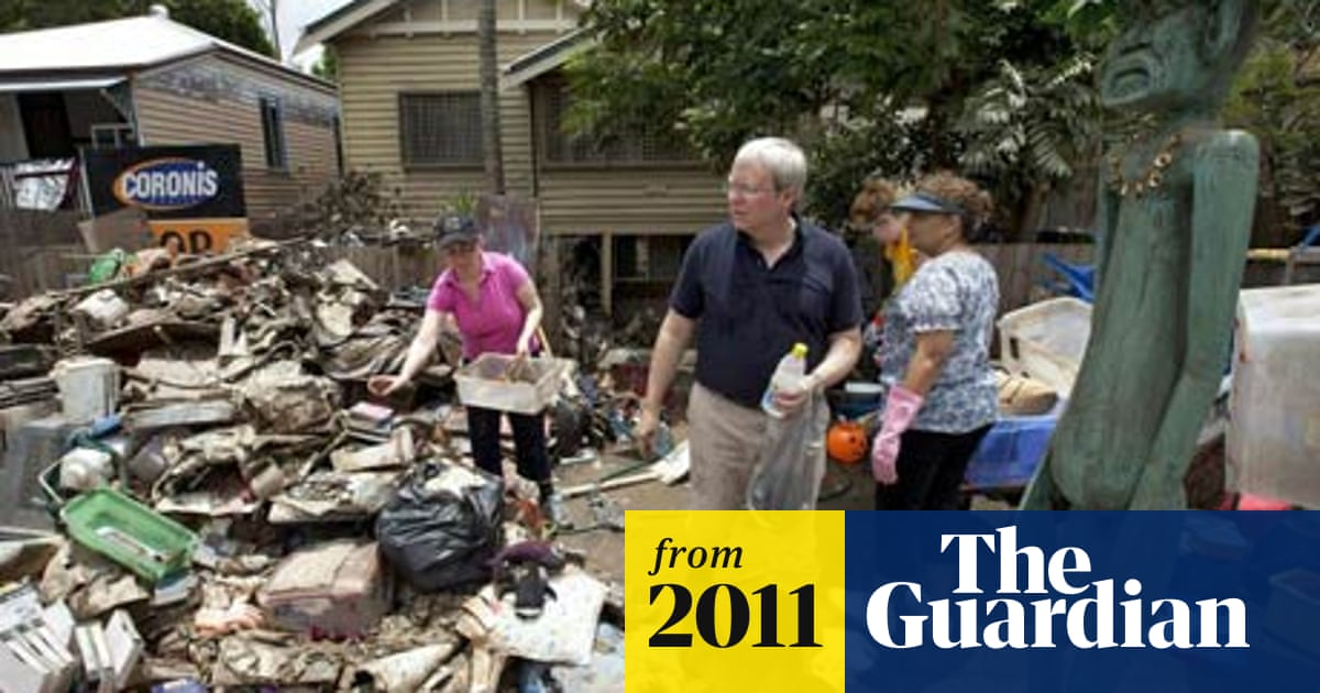 Australian floods: Clean-up begins in Brisbane | Australia news