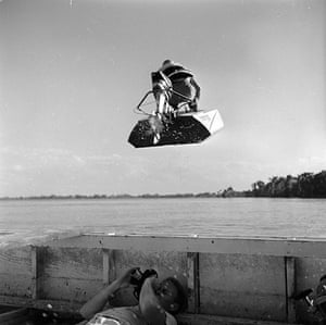 George Pickow: A photographer lies in his boat