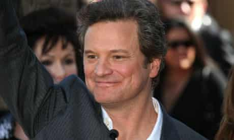 Colin Firth at his Hollywood Walk Of Fame induction ceremony