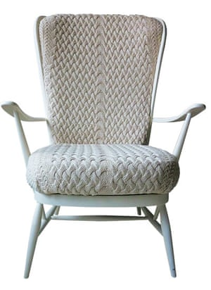 Homes: Knit wit: Knit wit: Ercol chair