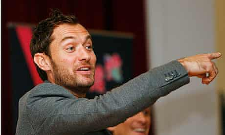 Jude Law talks to students 2010