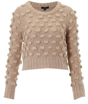 Key trends: knitwear: Cropped jumper