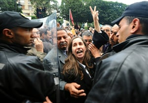 protests in tunisia: Opposition politcian Maya Jeridi