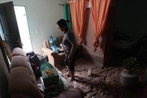 brazil mudslide aftermath: teresopolis