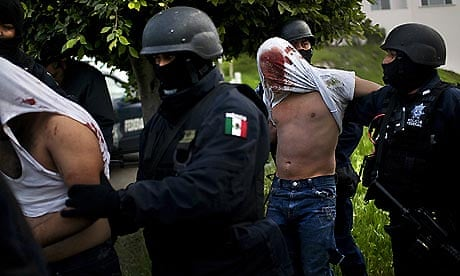"""the mexican drugwar Ciudad victoria, mexico - ten years after mexico declared a war on drugs, the offensive has left some major drug cartels splintered and many old-line kingpins like joaquin """"el chapo"""" guzman in jail, but done little to reduce crime or violence in the nation's roughest regions some say the war."""
