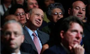 Goldman Sachs Looyd Blankfein