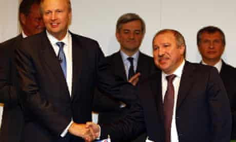BP and Rosneft announcement