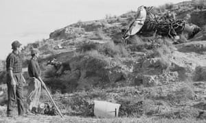 Workmen at Palomares in 1966