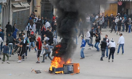 tunisia protests algeria suicide