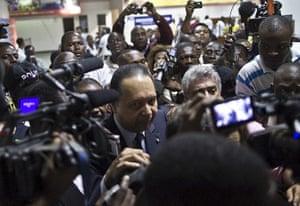 "Baby Doc Duvalier returns: Jean-Claude ""Baby-Doc"" Duvalier arrives"