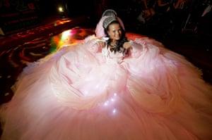 Big Fat Gypsy Weddings: Sam Norton in her wedding dress