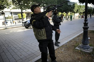 protests in tunisia: Tunisian police look for snipers