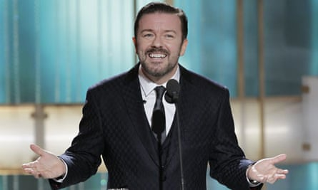 Ricky Gervais presents the 2011 Golden Globes