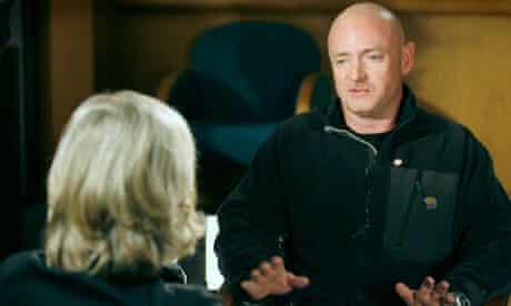 Mark Kelly talks to ABC's Diane Sawyer