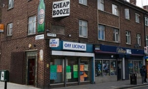 Off Licence in north east London
