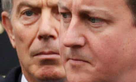 david cameron heir tony blair public reform