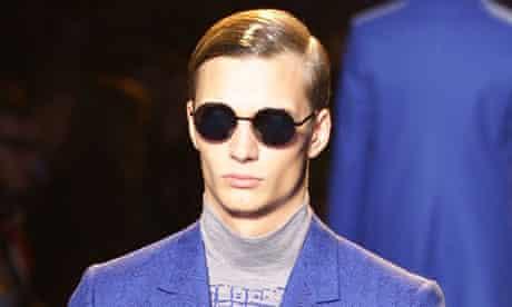 Versace at Milan fashion week