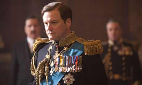 COLIN FIRTH as Bertie (King George VI) in THE KING'S SPEECH.