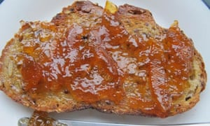 Perfect marmalade on toast