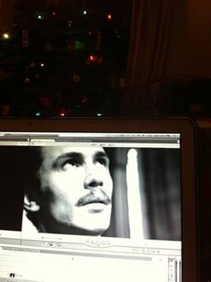 Week in pics: Franco: film editing