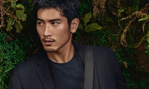 Godfrey Gao in the Louis Vuitton campaign.
