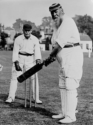 Fat Cricketers: The English cricketer WG Grace