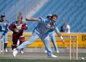Fat Cricketers: Ian Botham in action for England