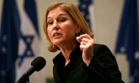 Tzipi Livni, lead Israeli negotiator in 2008