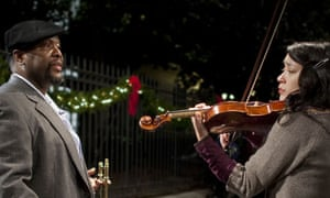 Wendell Pierce as Antoine and Lucia Micarelli as Annie in episode three of Treme.
