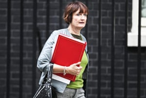 Shadow cabinet reshuffle: Tessa Jowell MP leaving a Cabinet meeting