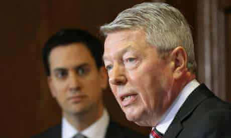 Alan Johnson and Ed Miliband