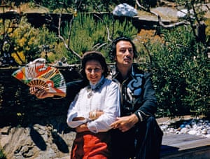 10 best: muses: Salvador Dali and His Wife Gala