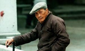 Older Chinese man