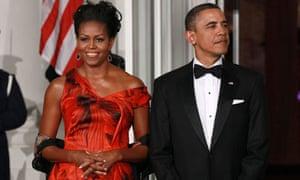 Michelle Obama Alexander McQueen dress