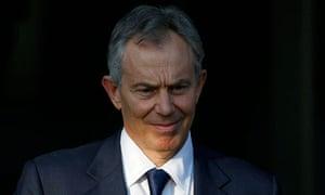 Tony Blair leaves the Iraq war inquiry