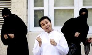 Saad Haroon performs Burka Woman