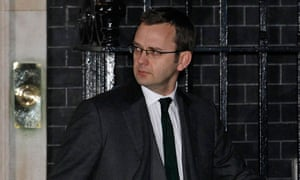 Andy Coulson leaves Downing Street