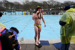 sport: UK Cold Water Swimmimg Championships