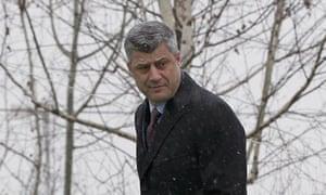 Kosovo's Prime Minister Hashim Thaci