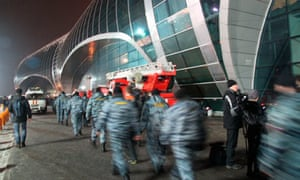 Suicide bomb attack, Domodedovo Airport, Moscow, Russia - 24 Jan 2011