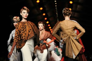 Paris Fashion Week: Models walk the runway