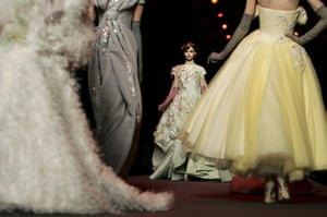 Paris Fashion Week: Models present creations by British designer John Galliano