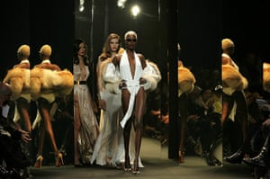 Paris Fashion Week: Models walk the runway during the Alexandre Vauthier show