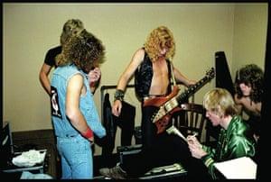 Metallica: Metallica with journalist John Strednansky in San Francisco 1982