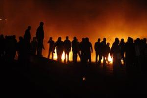 Lebanon Protests: Supporters of caretaker PM Hariri burn tyres