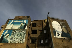 Lebanon Protests: Posters of caretaker Prime Minister Saad Hariri and Former Prime Minister
