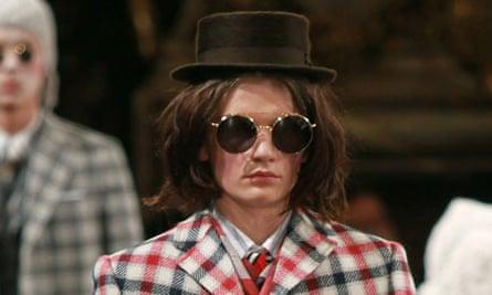 Thom Browne at Paris men's fashion week