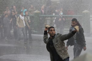 egpyt protests: Protests in Cairo